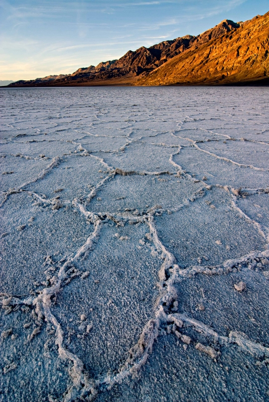 Sunset, Badwater, Death Valley