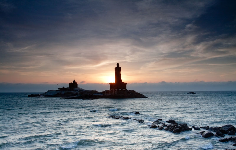 The Spectacular Sunrise Of Kanyakumari