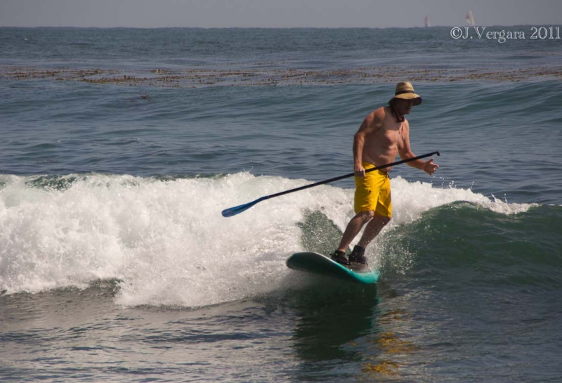 Surfing In Laguna