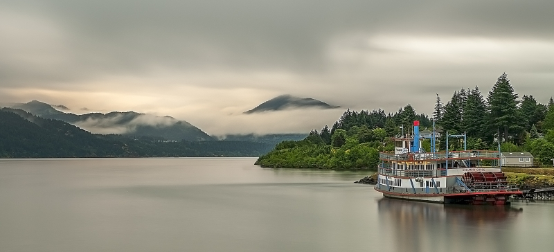 Columbia River Steamboat