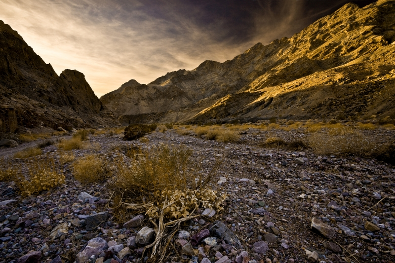 Echo Canyon Death Valley