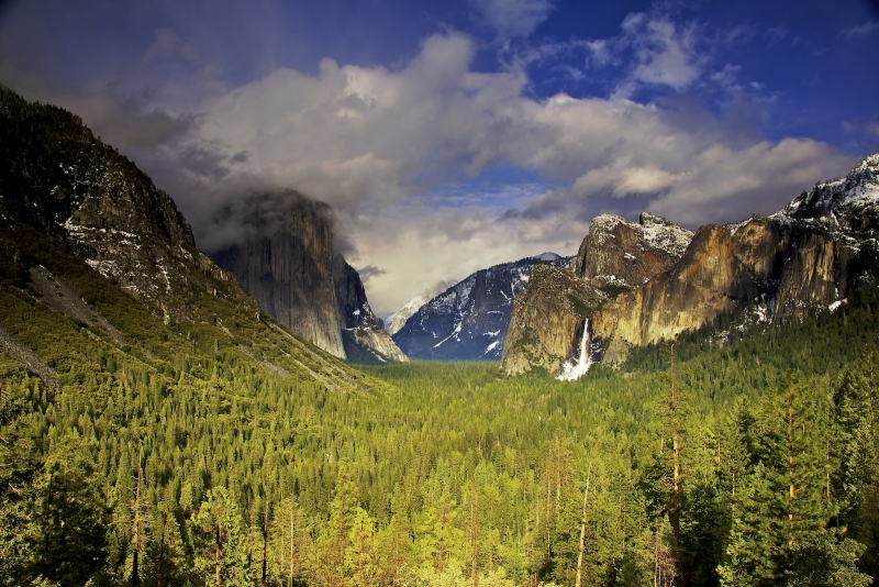 Late Spring Storm In Yosemite Valley