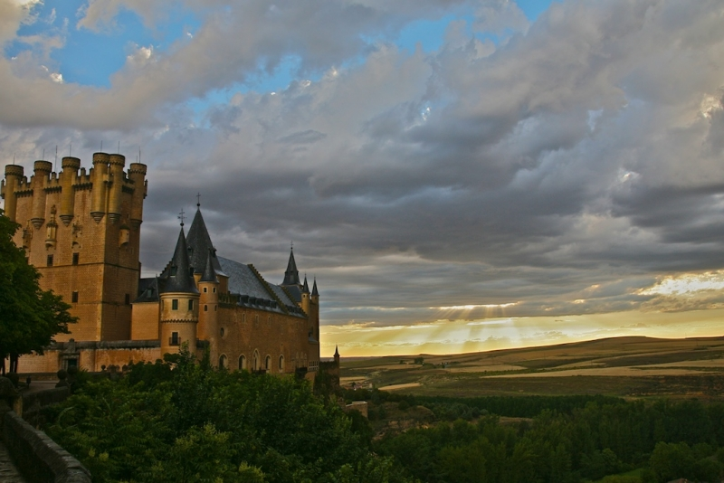 Alcazar After A Thunder Storm