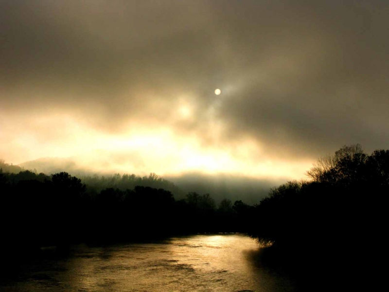 French Broad River Sunrise