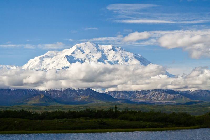 Mt. Mckinley From A Kettle Pond