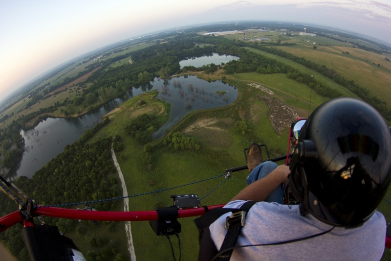 Flying In The Midwest