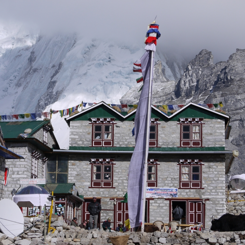 Gorakshep, Highest Village On Mt Everest