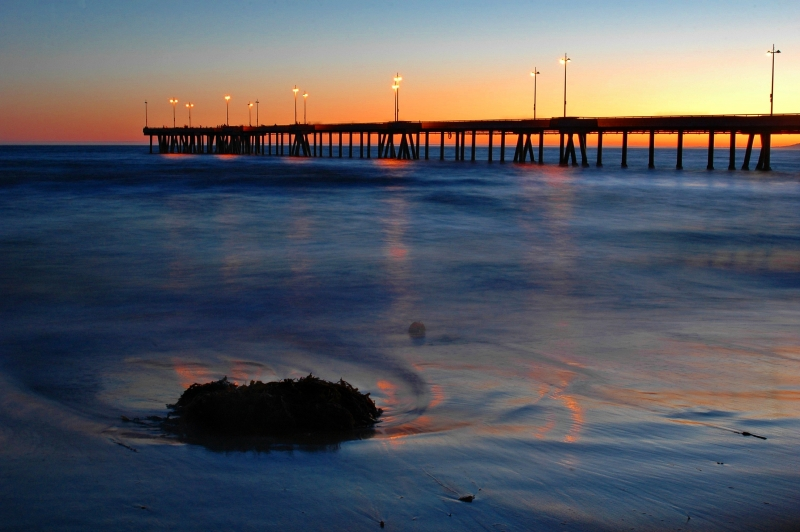Sunset At Venice Pier
