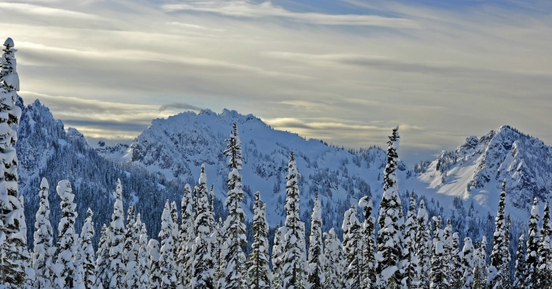 Tatoosh Range Morning