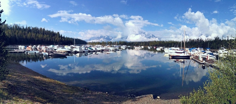 Grand Tetons & Colter Bay Iphone 3gs  Photo