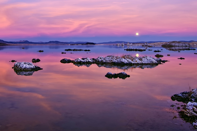 Moonrise Over Monolake