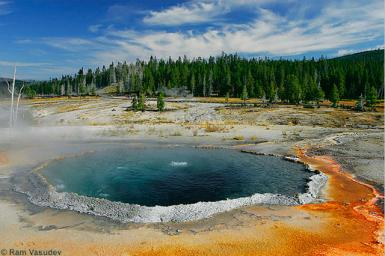 Crested Pool, Yellowstone National Park