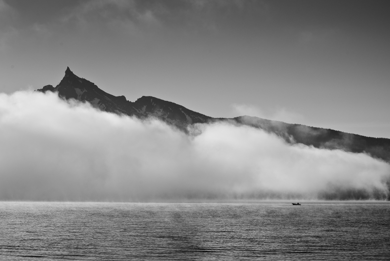 Mt Theilsen & Fog