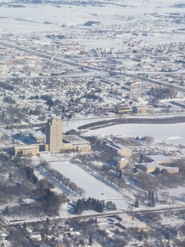 Nd Capital Building In Winter