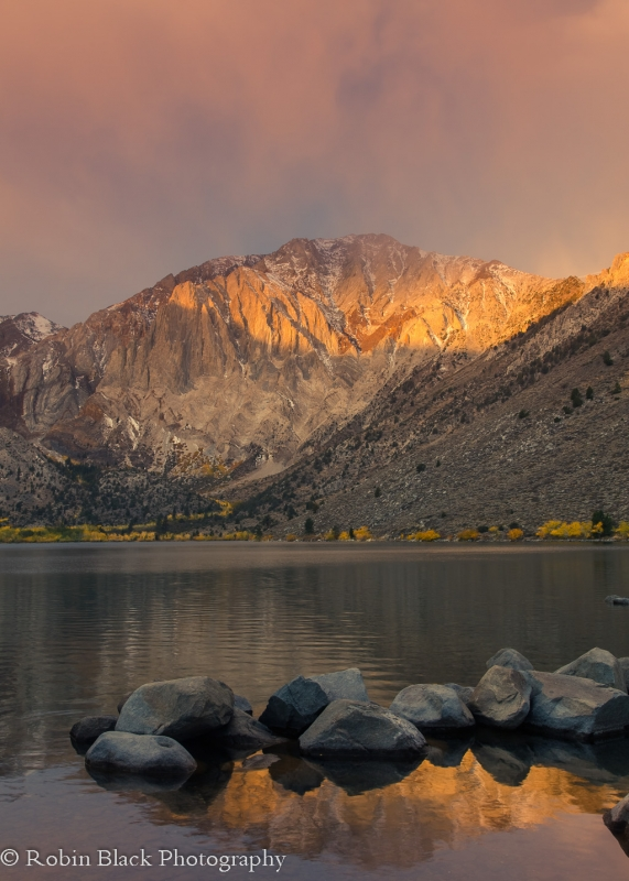 Autumn Sunrise, Convict Lake (eastern Sierra)