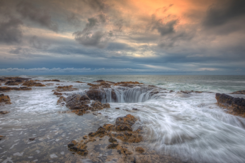 Standing At Thor's Well