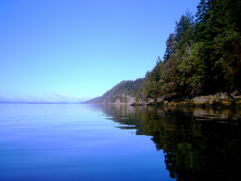 Galiano Reflection