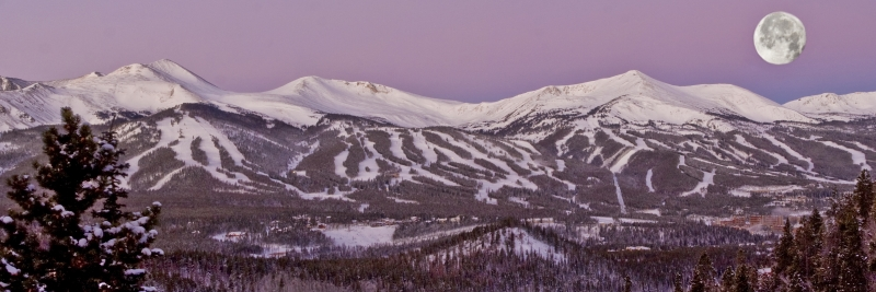 Breckenridge Moonset