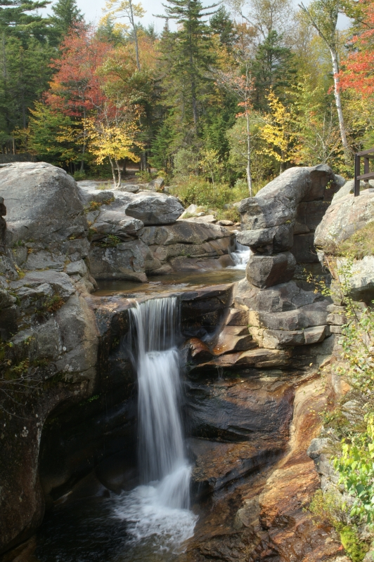 Autumn At Screw Auger Falls