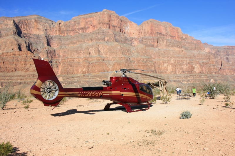 Grand Canyon Floor Landing