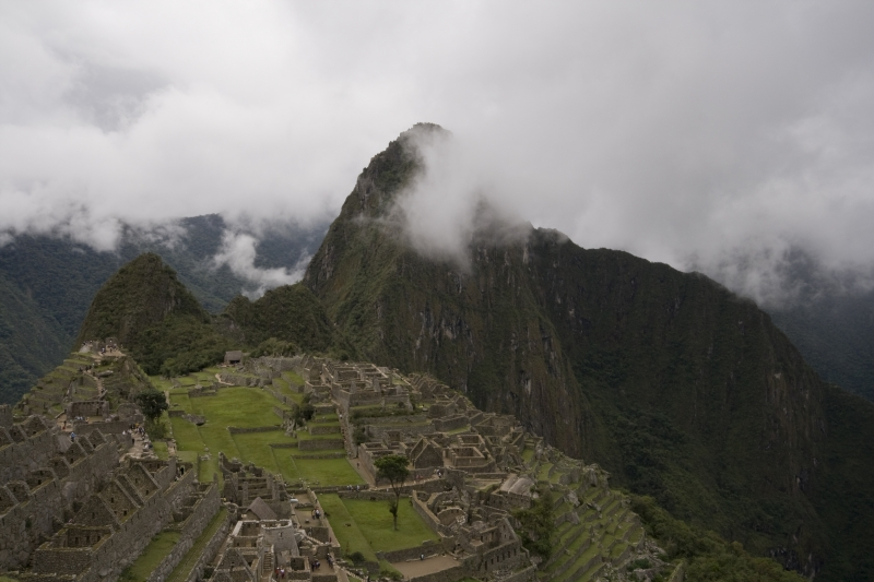 Clouds Over Machu Picchu