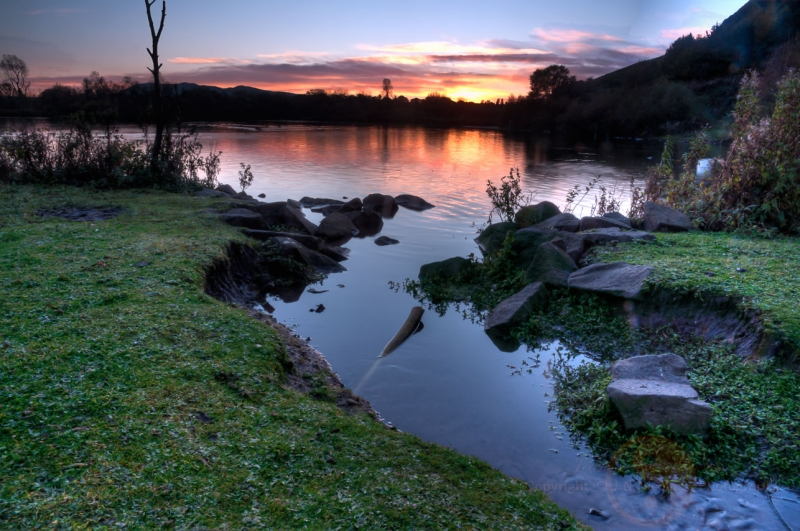 Duddingston Loch At Dusk