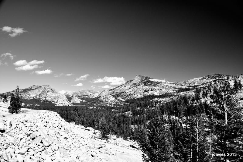 Eastern Yosemite Views, Tenaya And Hwy 120