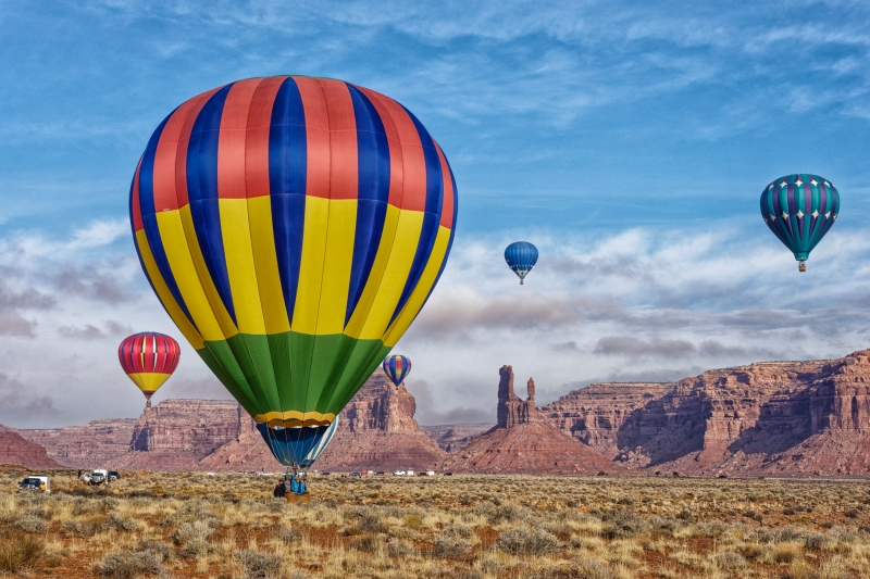 Balloons In Valley Of The Gods