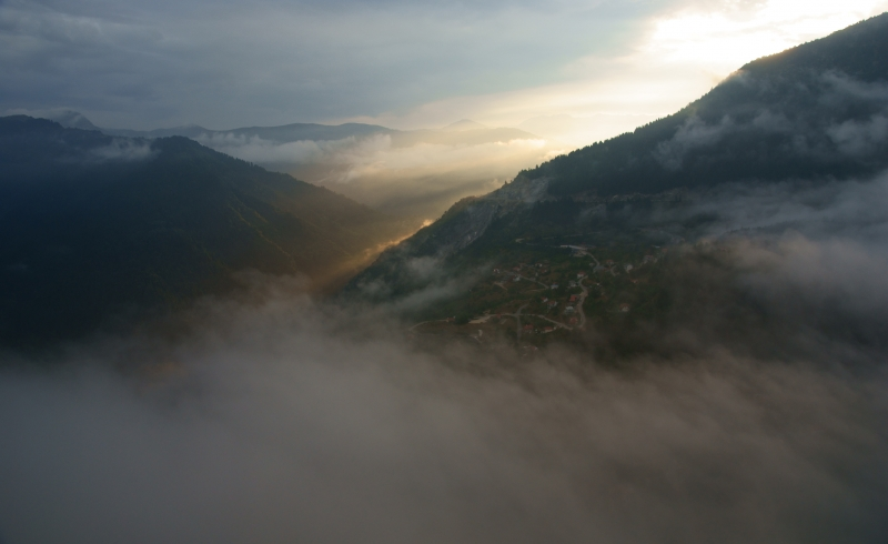 A Village In The Clouds