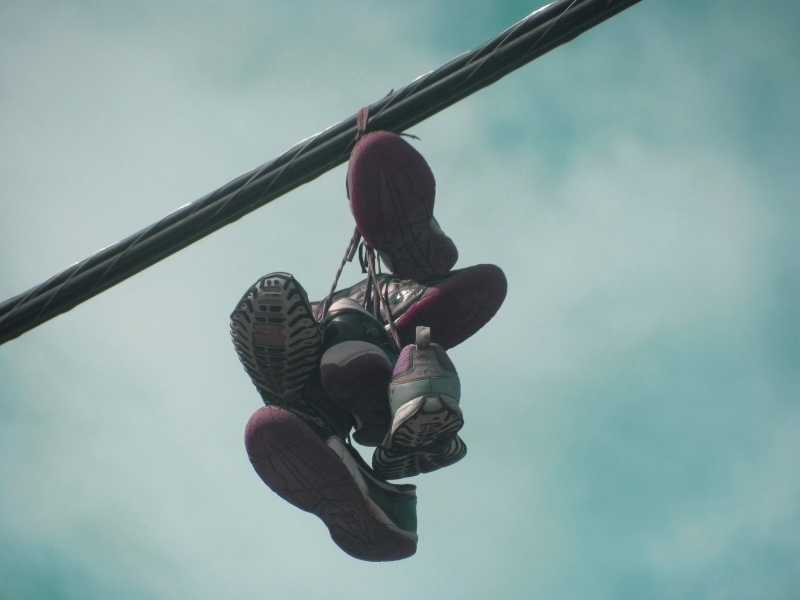 Sneakers On A Wire # 1