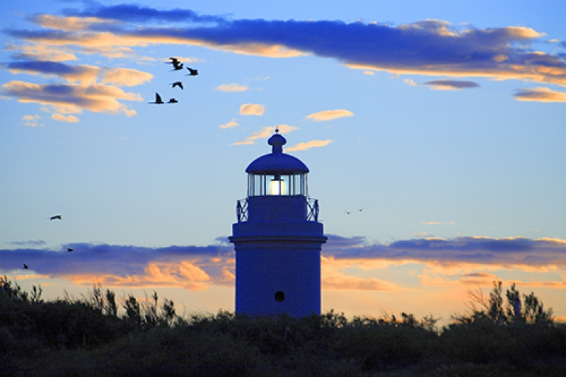 Old Lighthouse At Dusk