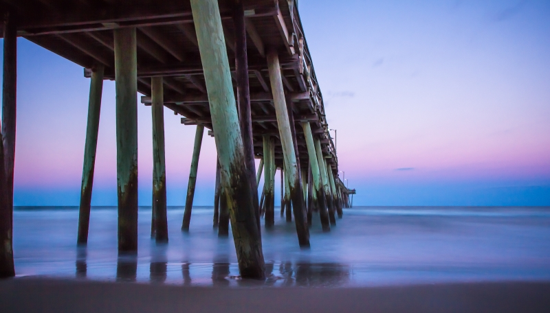 Virginia Beach Pier Colors