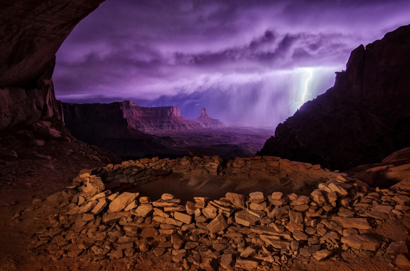 Thunderstorm In The Kiva