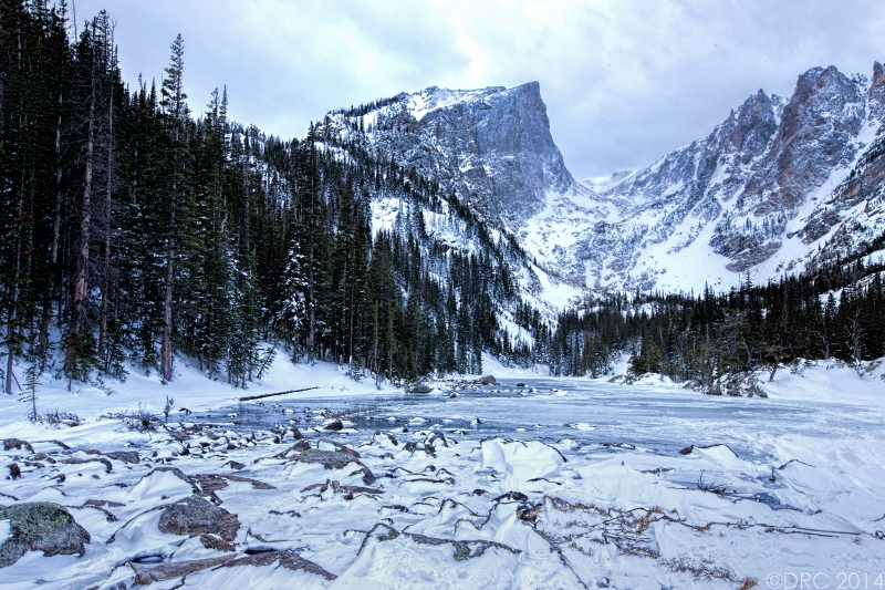 Dream Lake Frozen
