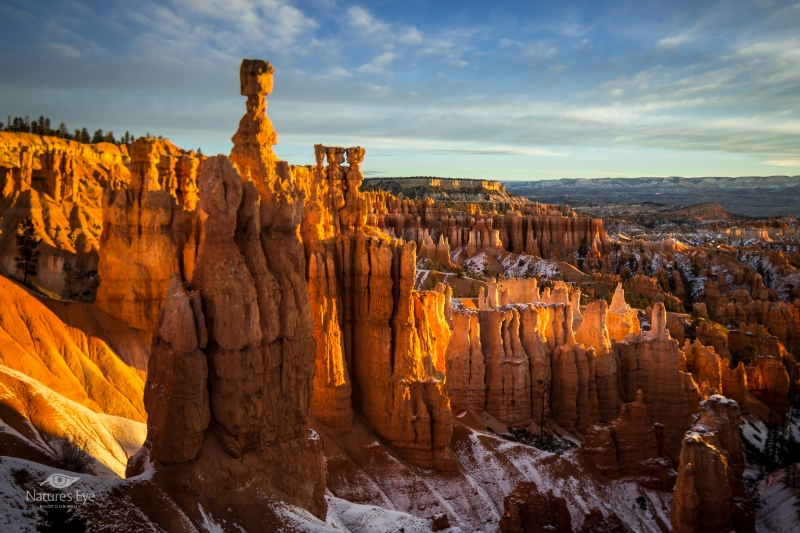 Sunrise On Thors Hammer Bryce Canyon National Park