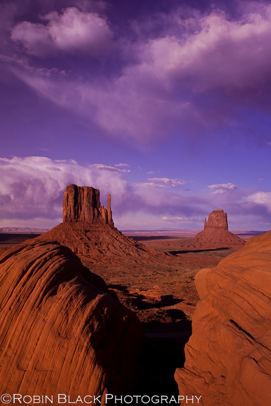 Monument Valley, Evening