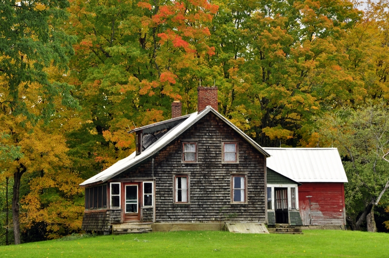 Old House In October