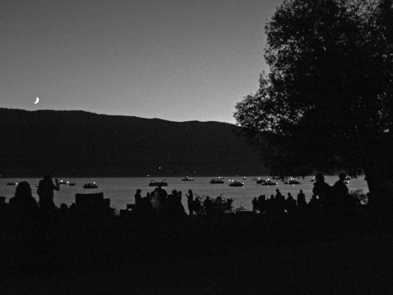 Cascade Lake Before The Fireworks