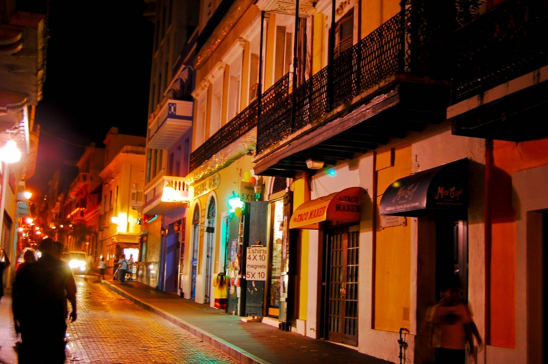 San Juan Puerto Rico @ Night