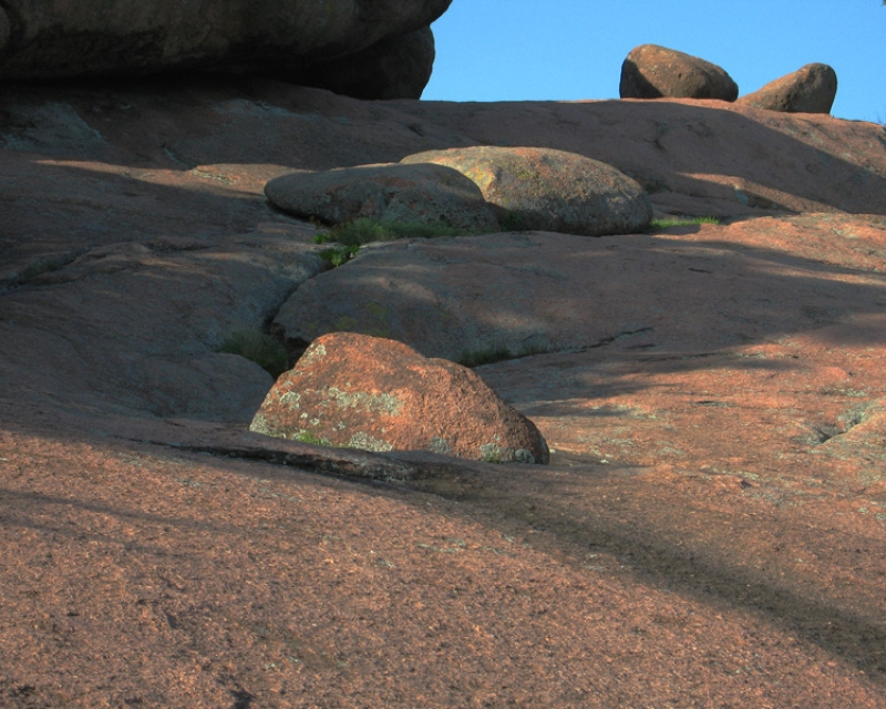 Boulders And Shadows