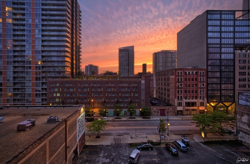 South Loop Sunset