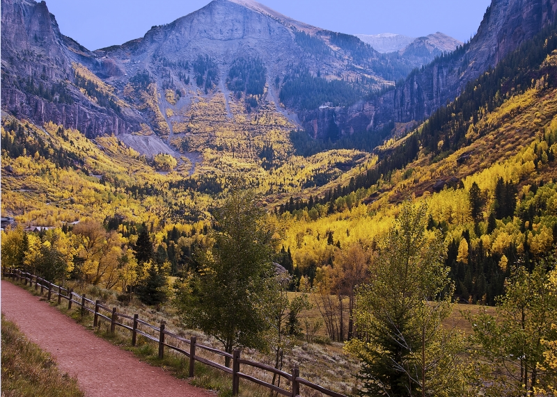 Fall Color 2012  North Of Telluride, Co.