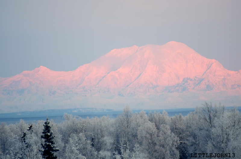 Denali, Christmas Eve Sunrise