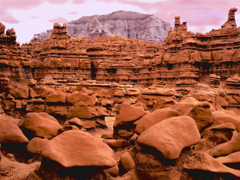 Goblin Valley Dusk
