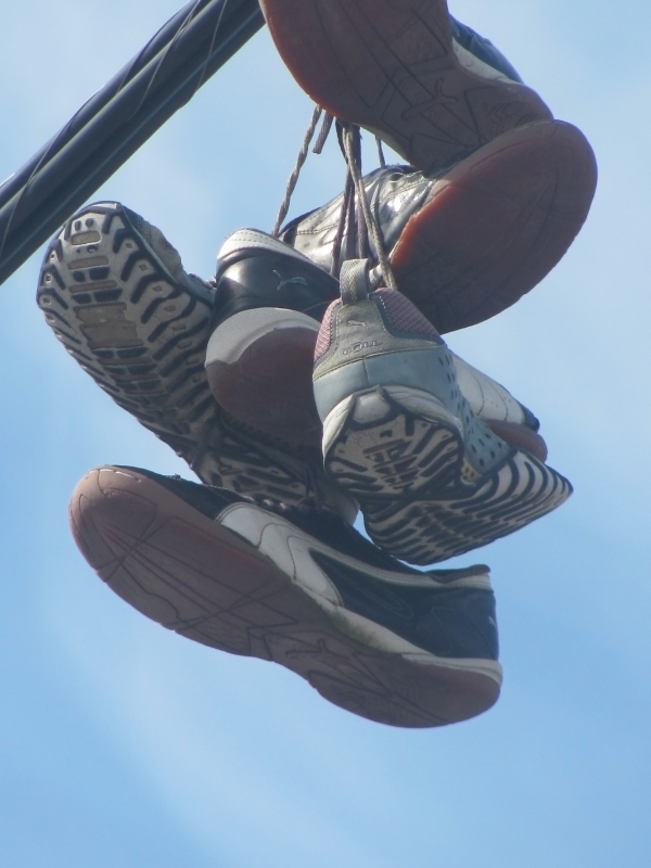 Sneakers On A Wire # 3