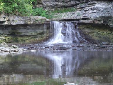 The Falls, Mccormicks Creek State Park