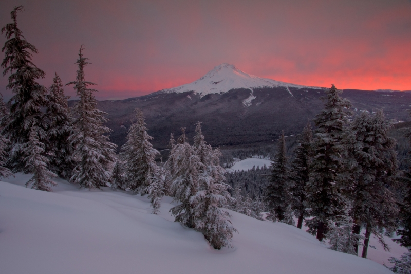 Fire And Ice – Mt Hood