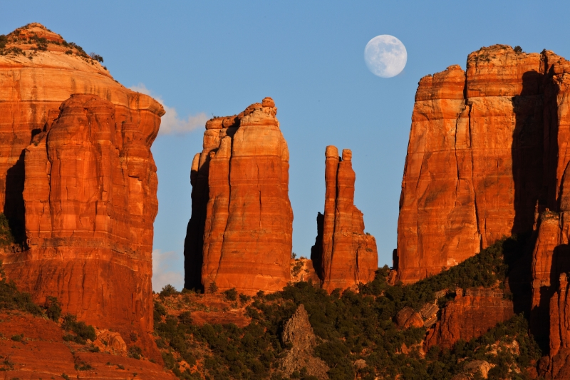Cathedral Moonrise