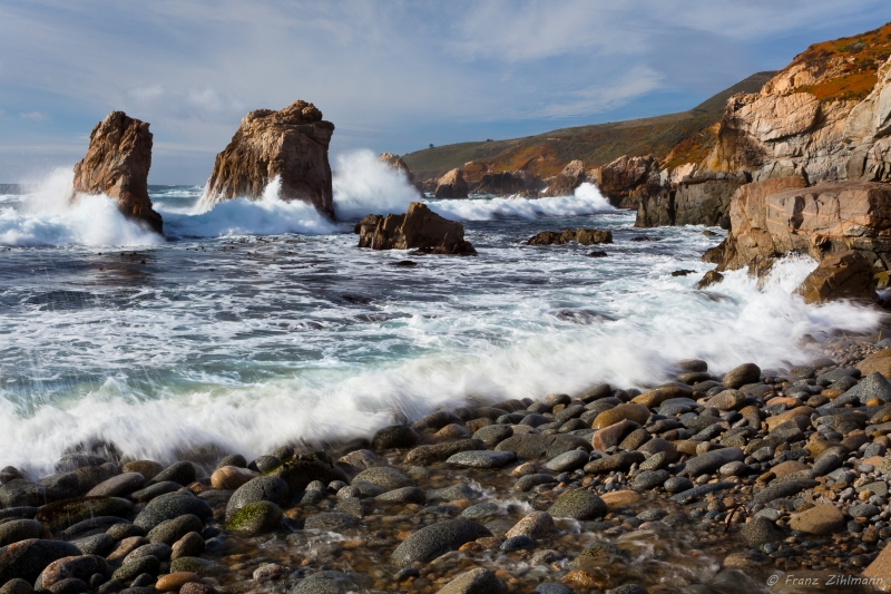 Sea Stacks, Garrapata State – Park Big Sur, Ca