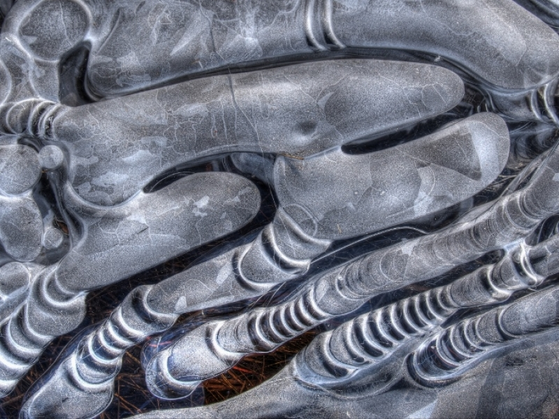 Ice Abstract #2